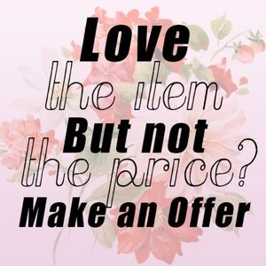 All reasonable offers considered❣️